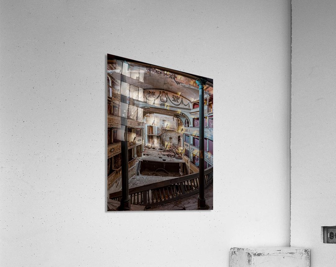 Abandoned Cinema  Acrylic Print
