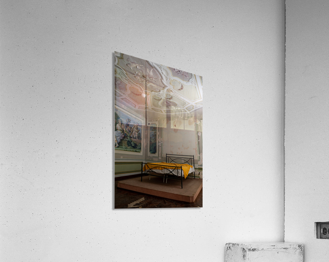 Abandoned Mansion Marvelous Bedroom  Acrylic Print