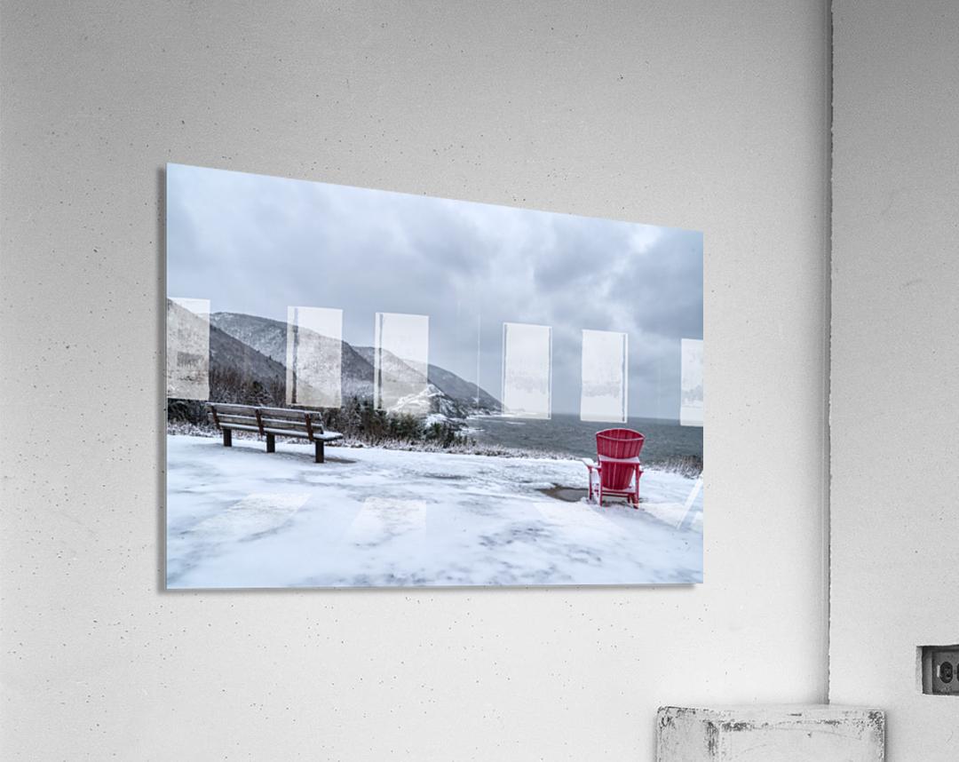 Winter in the CBHNP  Acrylic Print