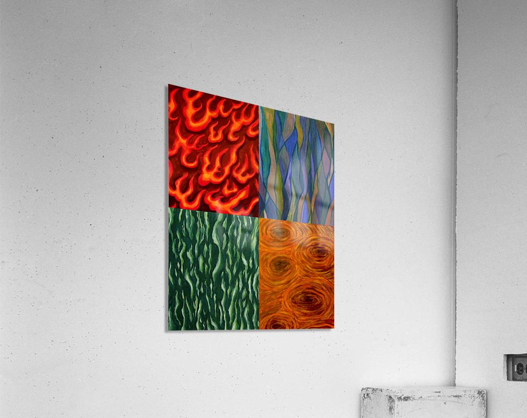 4 elements A  Acrylic Print