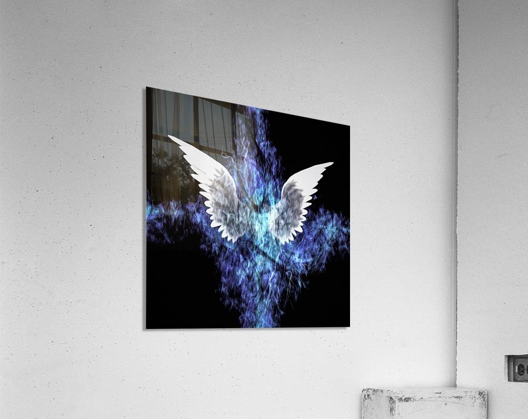 Wings Painting  Acrylic Print