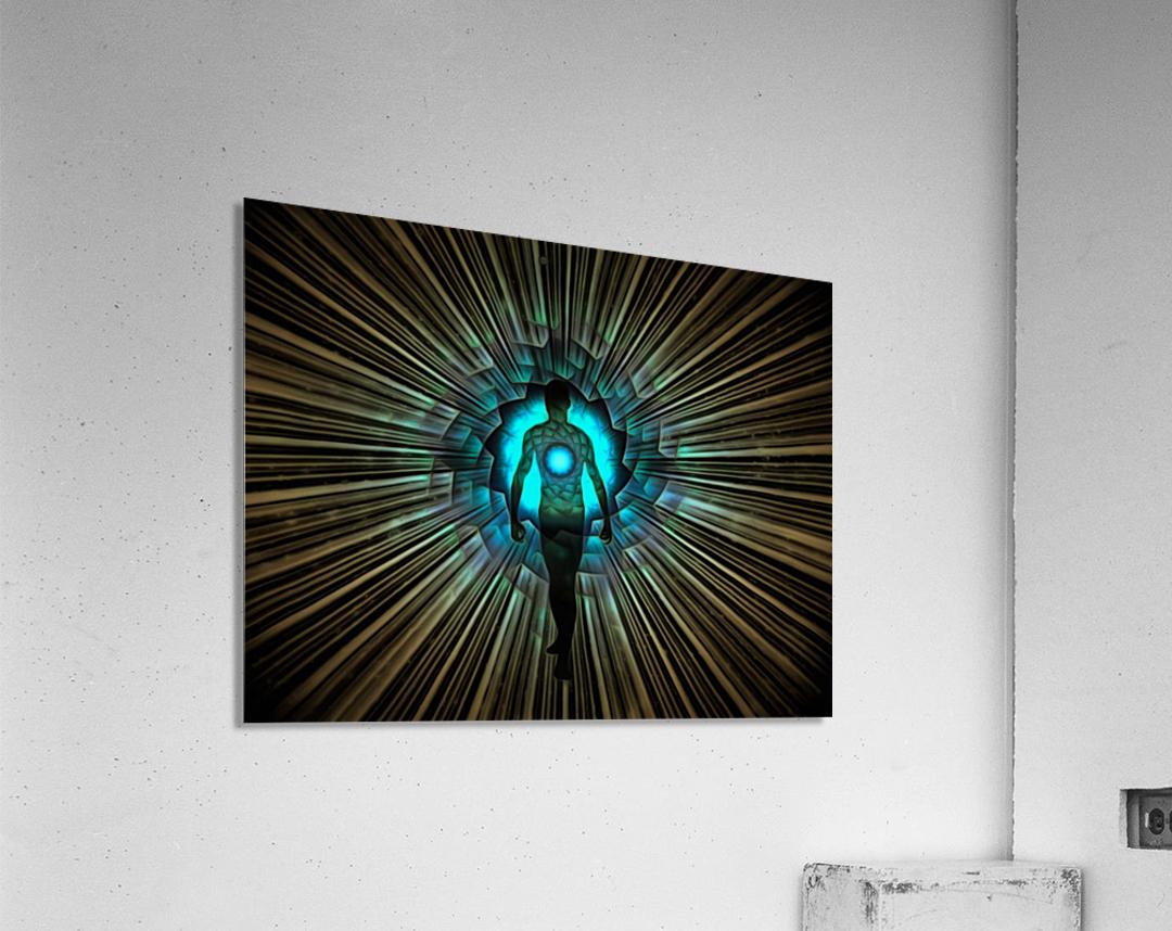 Aura or Soul  Acrylic Print