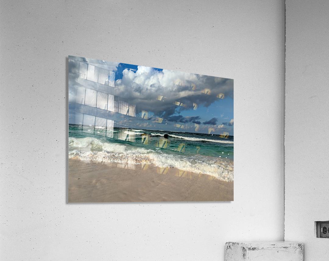 Eleuthera Endless Waves  Acrylic Print