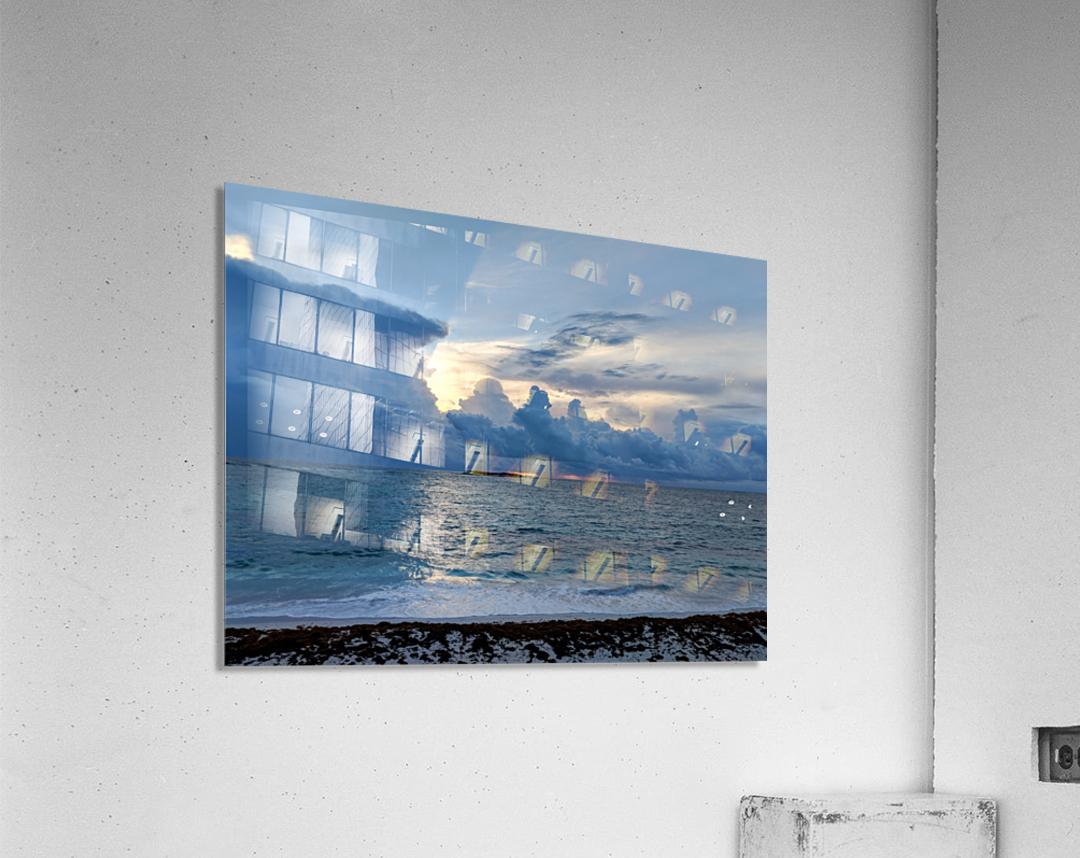Eleuthera Sun Ray 2  Acrylic Print
