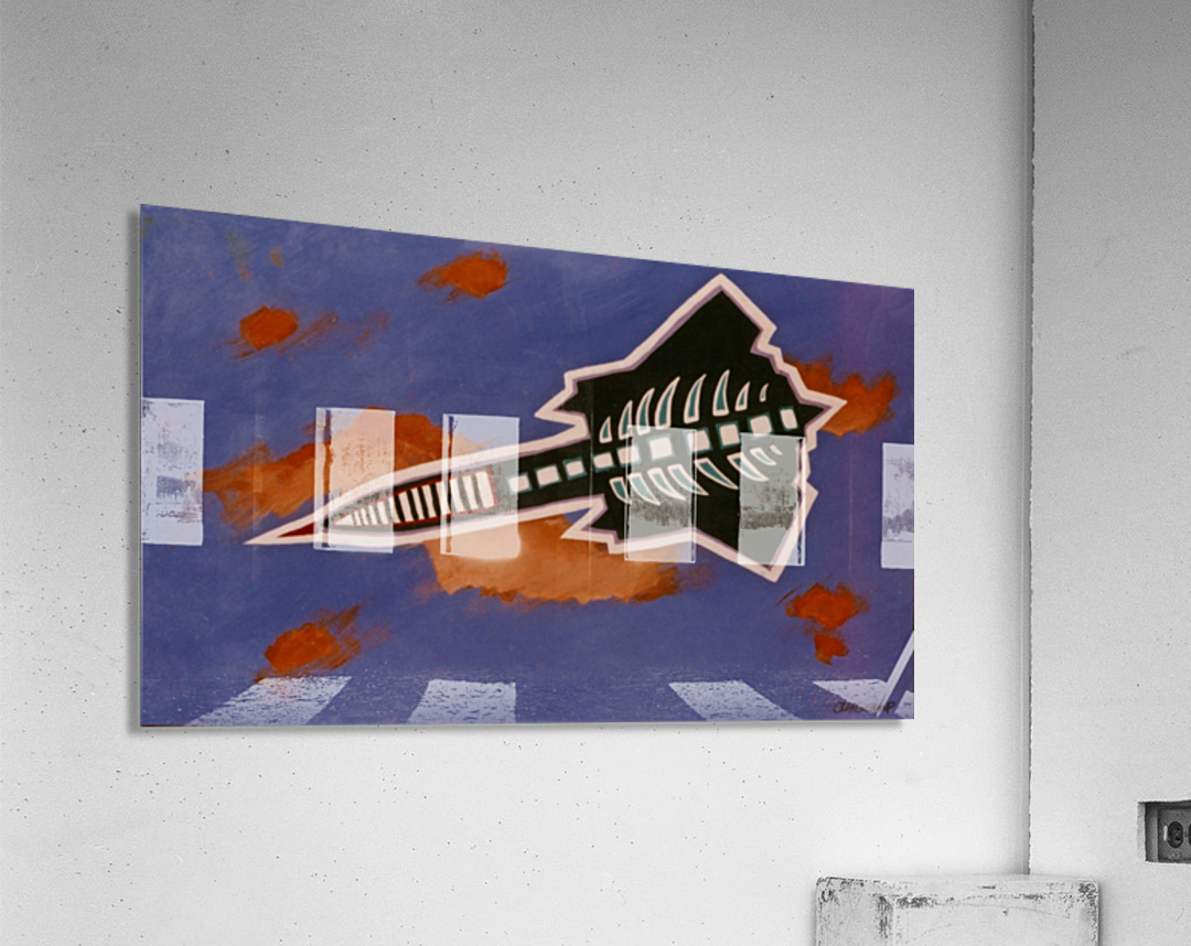 Rocket Ship  Acrylic Print