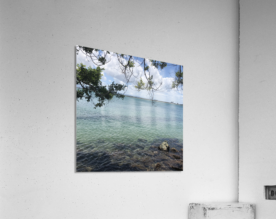 A Street Side in Puerto Rico Series: 3  Acrylic Print