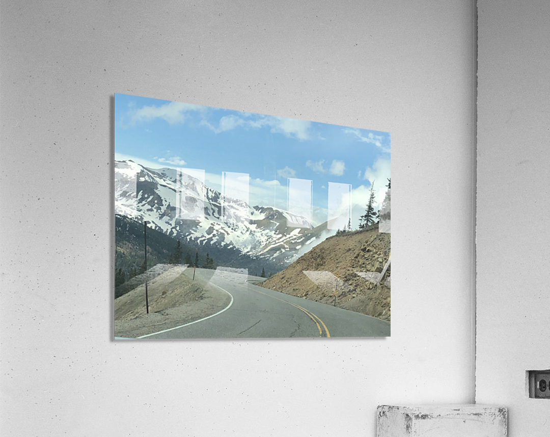 Old Country Road...Up In the Mountains  Acrylic Print
