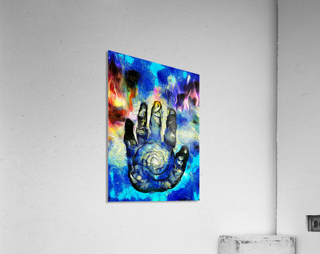 Hand of Time  Acrylic Print