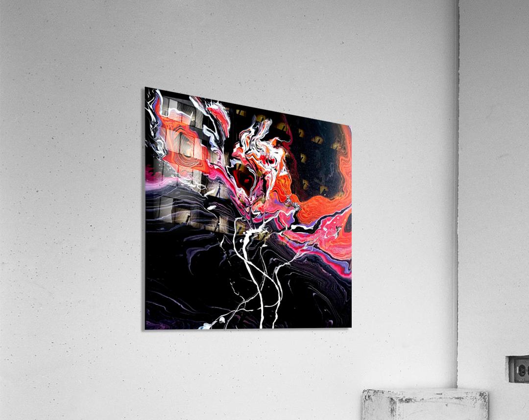 Hell garden  Acrylic Print