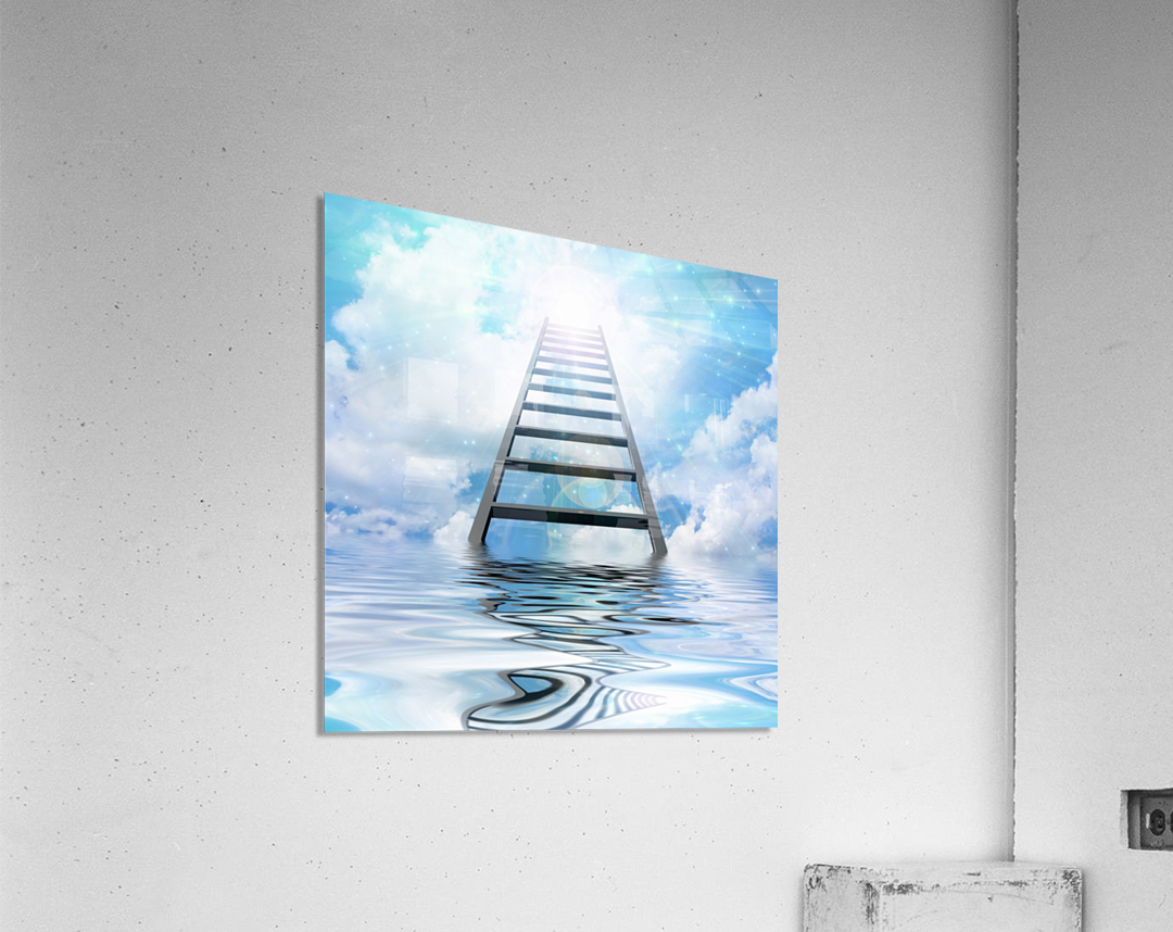 Ladder to the Sky  Acrylic Print