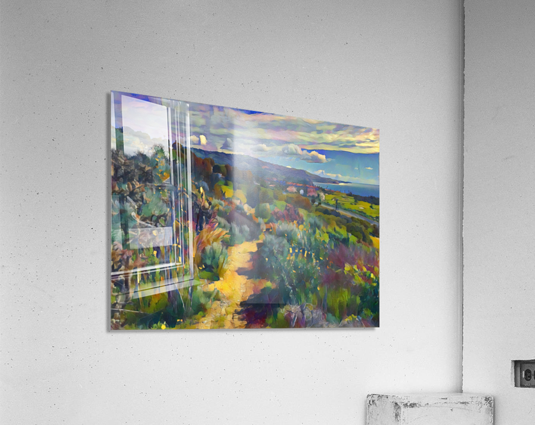 California spring hike  Acrylic Print