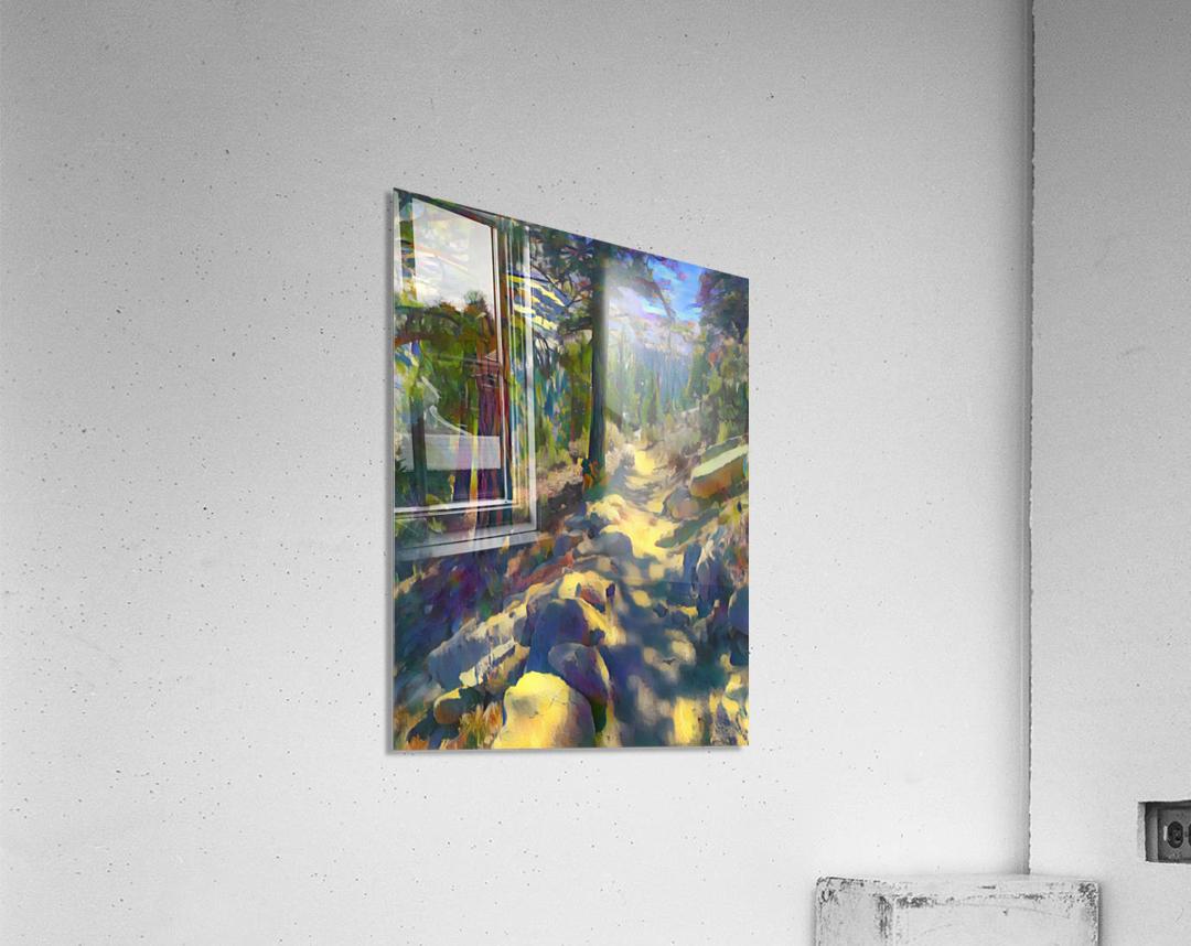 In the shadow  Acrylic Print