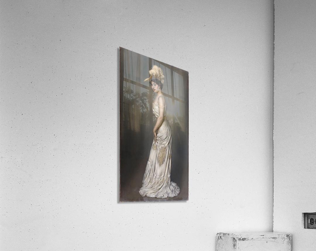 Portrait de madame Rene Prejelan  Acrylic Print