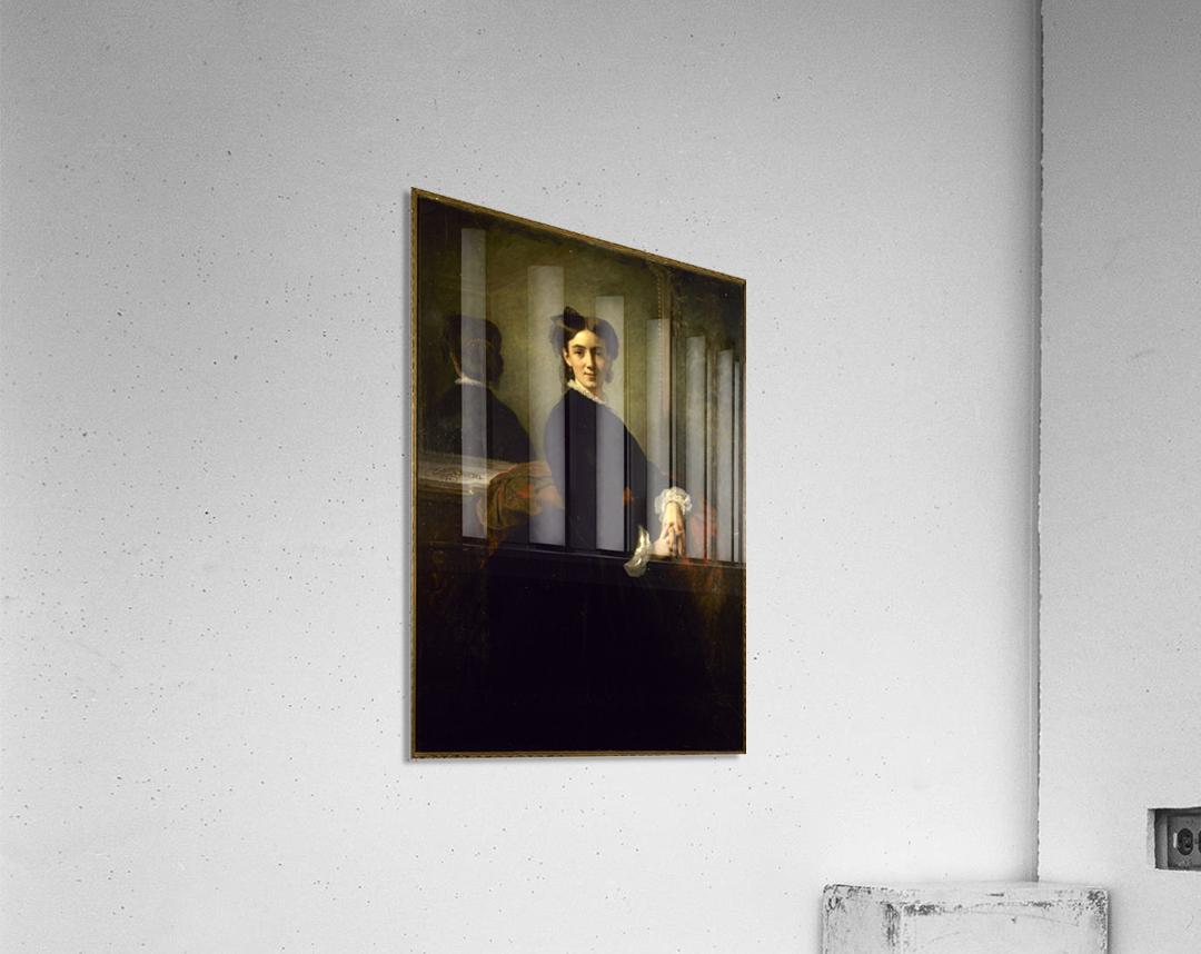 Portrait de Madame Charles Chaplin  Acrylic Print