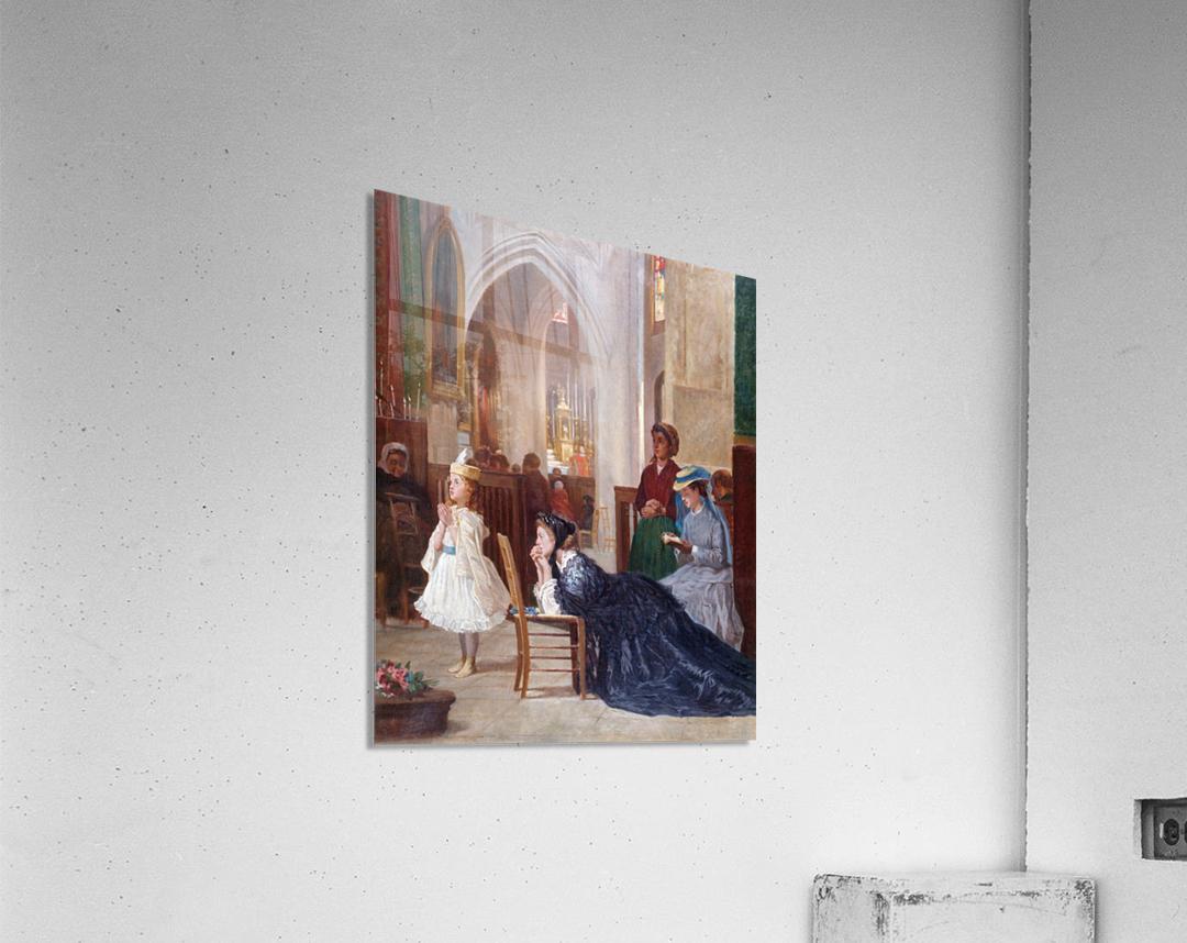 La priere  Acrylic Print
