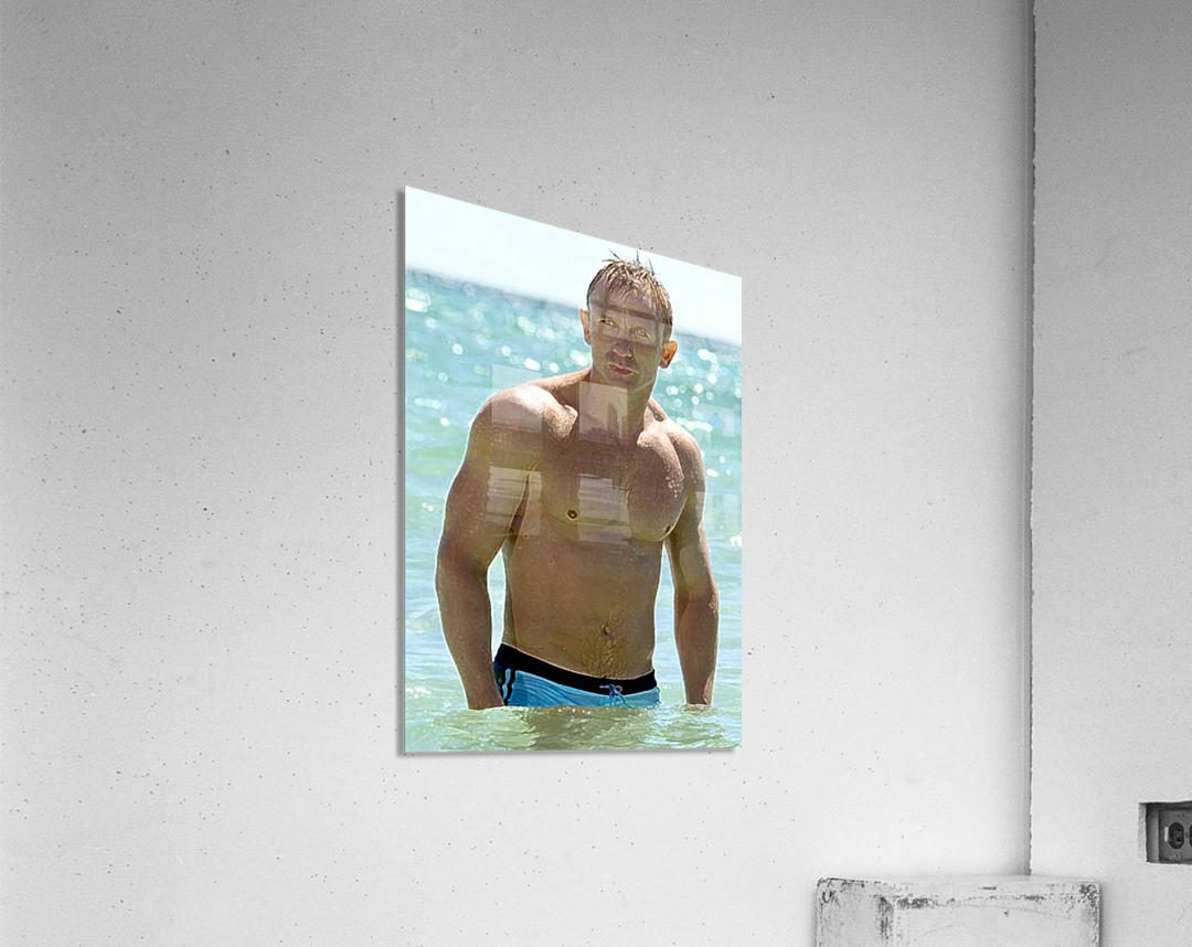 Daniel Craig  Acrylic Print