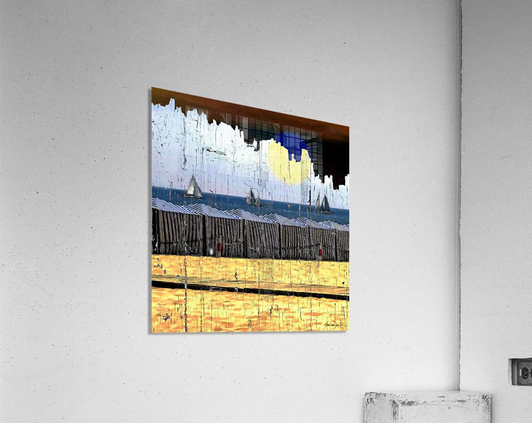 Les voiliers de Porto  Acrylic Print