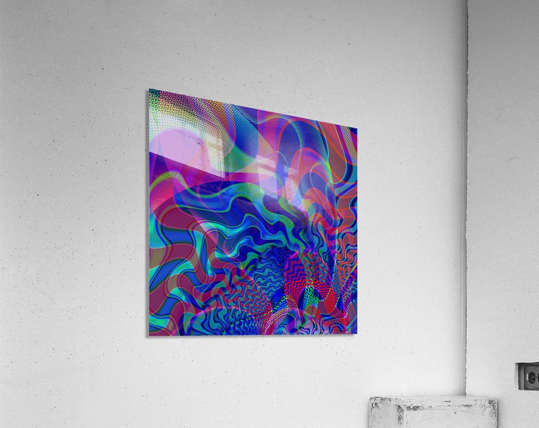 Digital_Tornado_Take_1  Acrylic Print