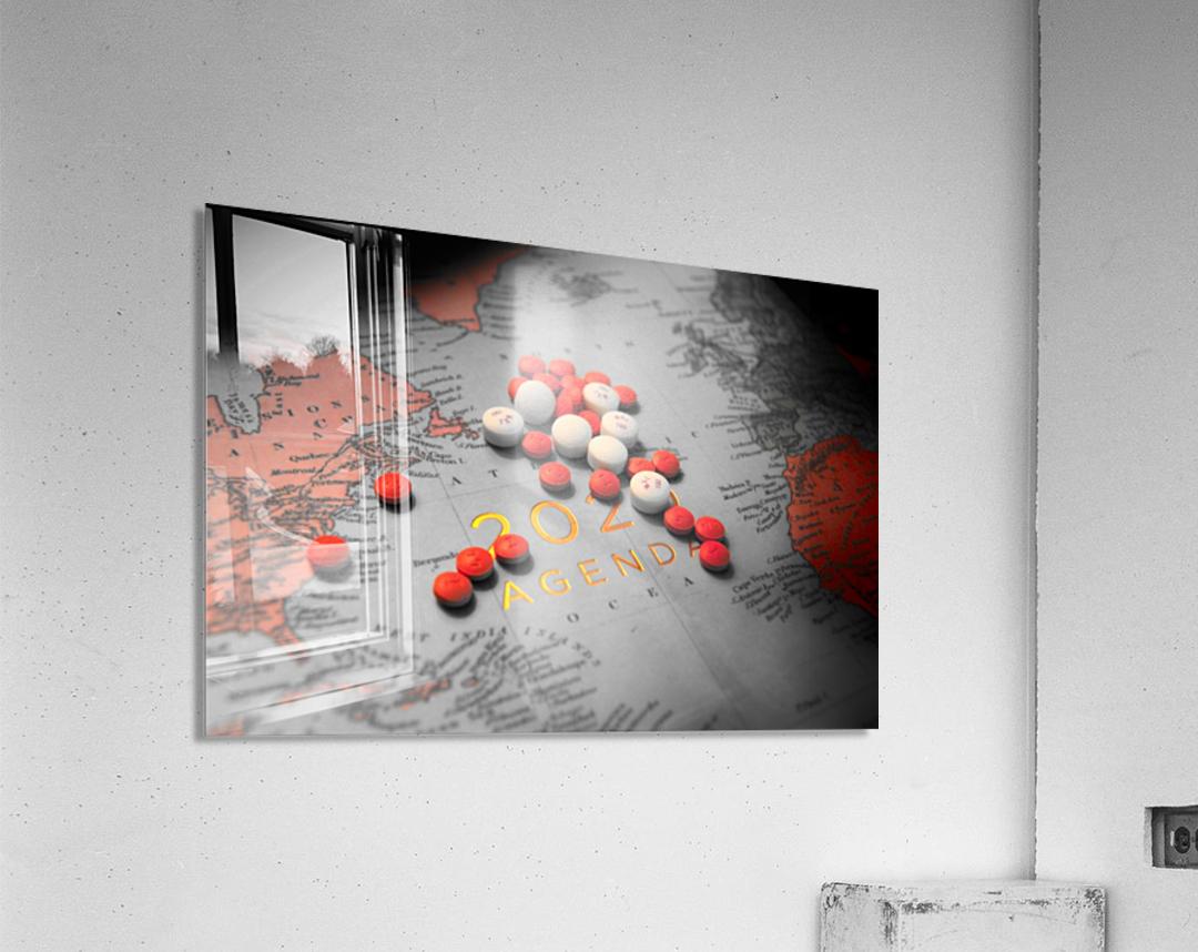 2020  Acrylic Print