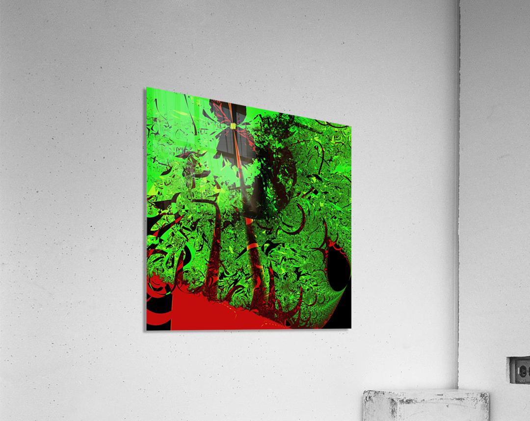 Digital_Tornado_Take_4  Acrylic Print