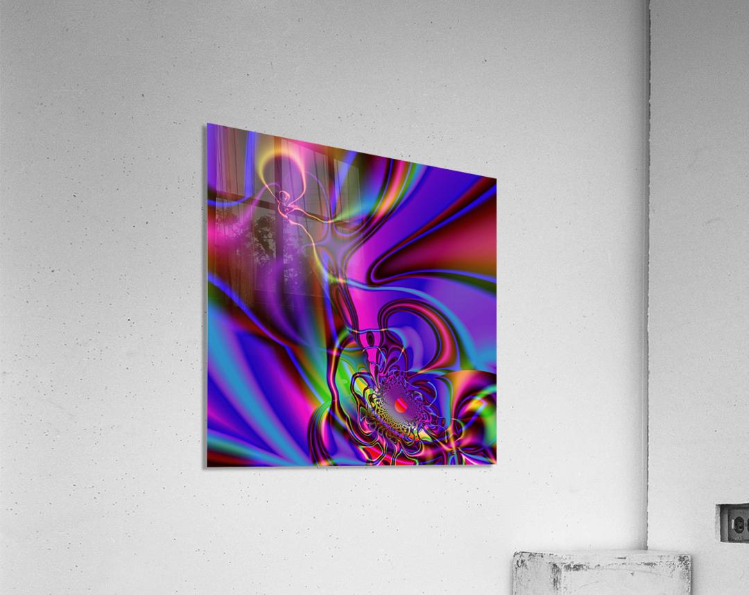 Hasta_El_Fuego_2  Acrylic Print