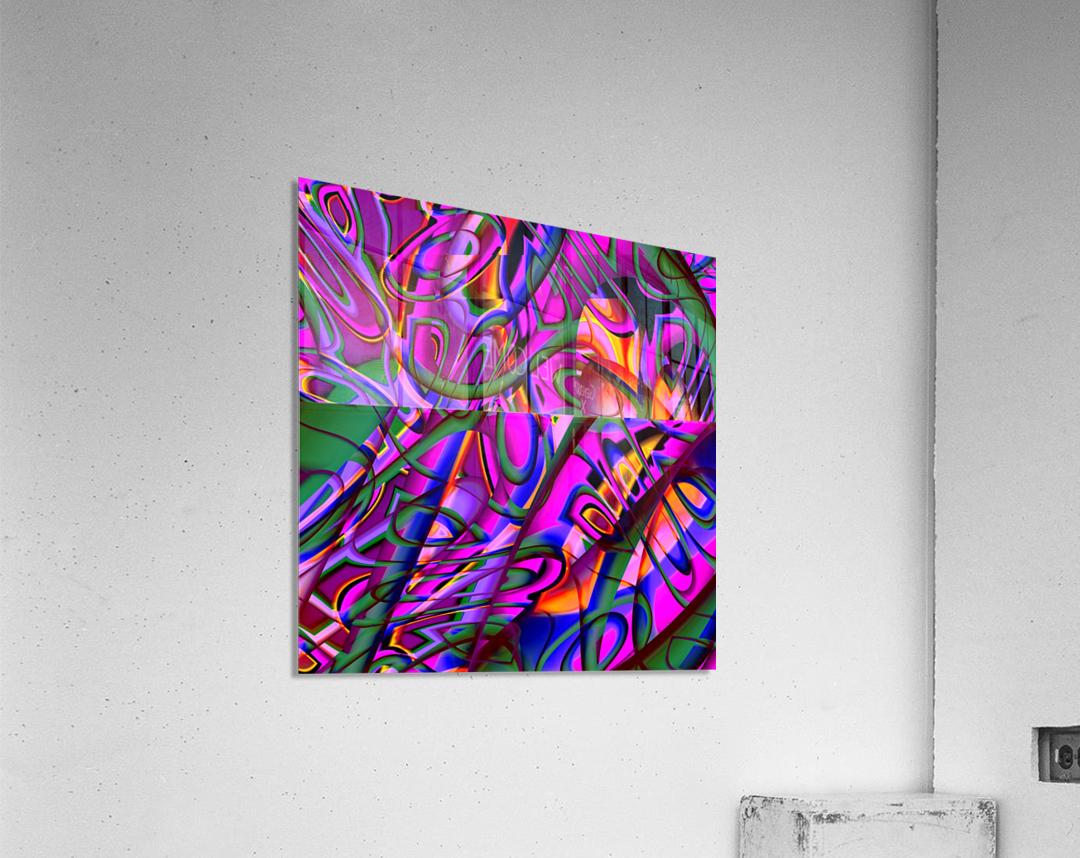 Jazz_Fusion_Series_3  Acrylic Print