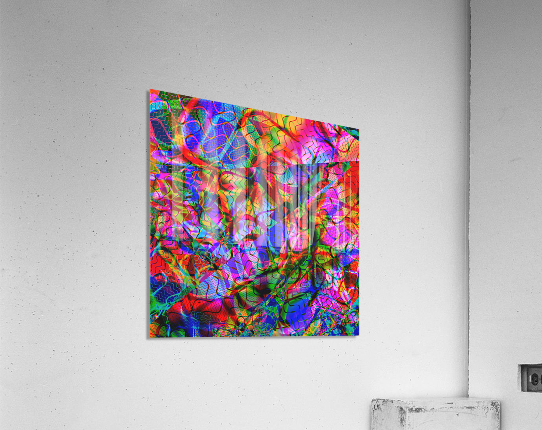 Jazz_Fusion_Series_2  Acrylic Print