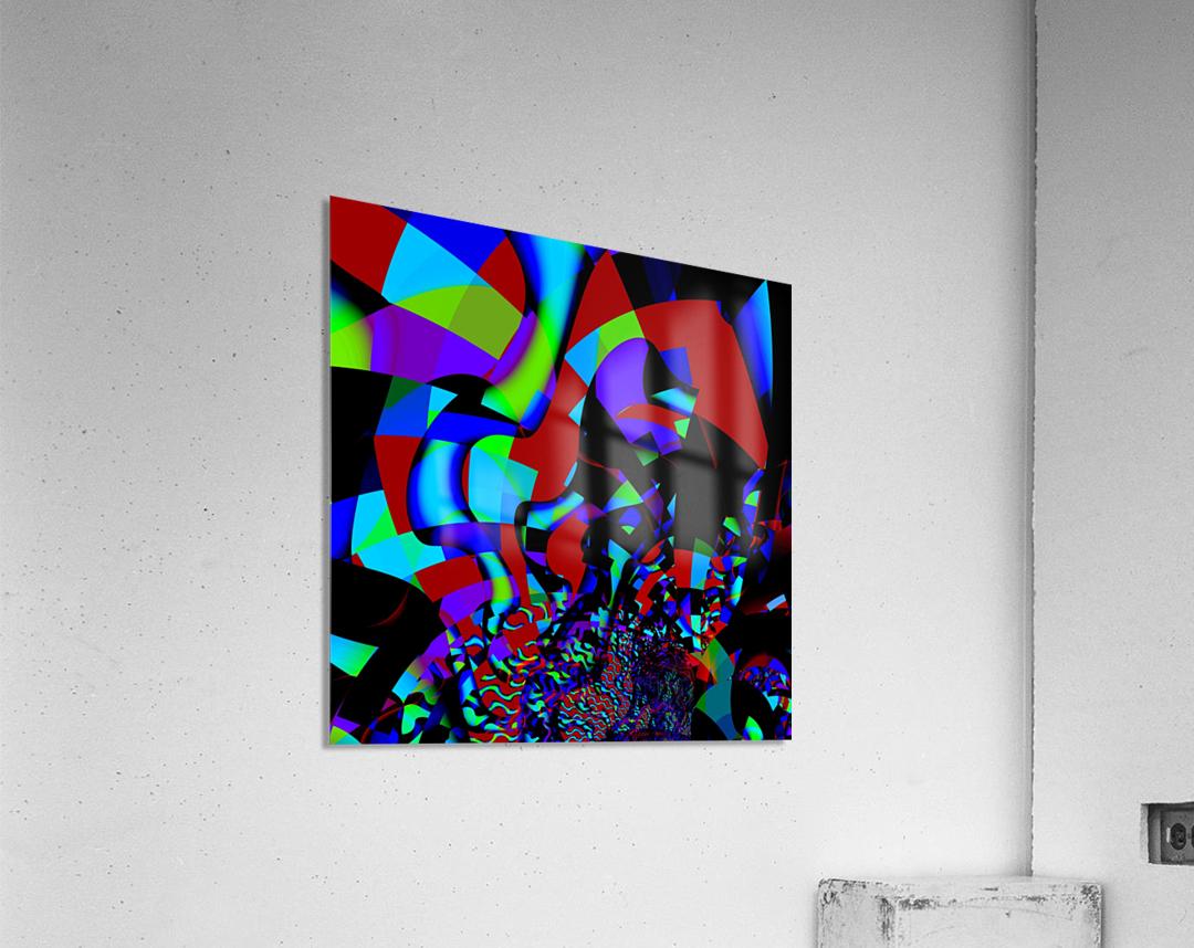 Jazz_Fusion_Series_1  Acrylic Print