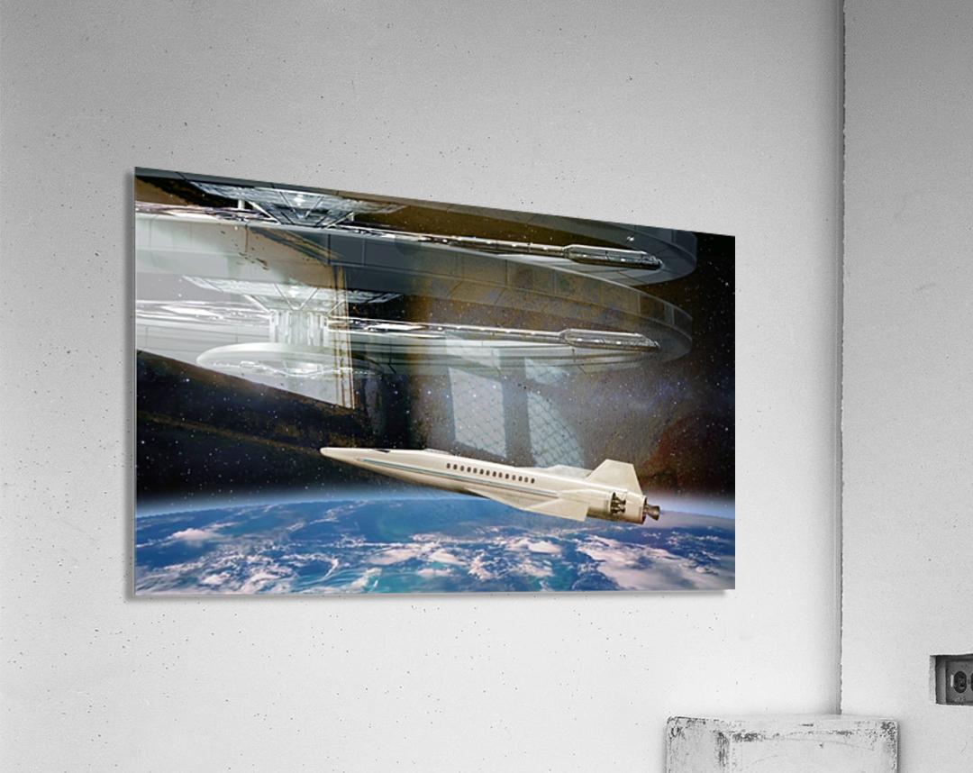 Shuttle104  Acrylic Print