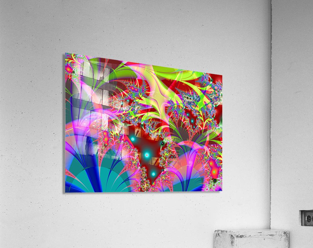 Tangerine_Island_3  Acrylic Print