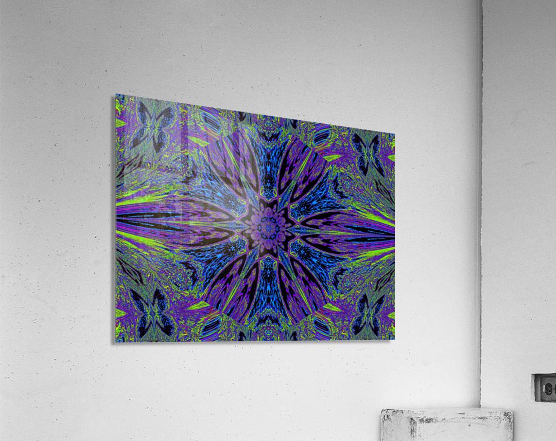 Butterfly Flight Flower  Acrylic Print