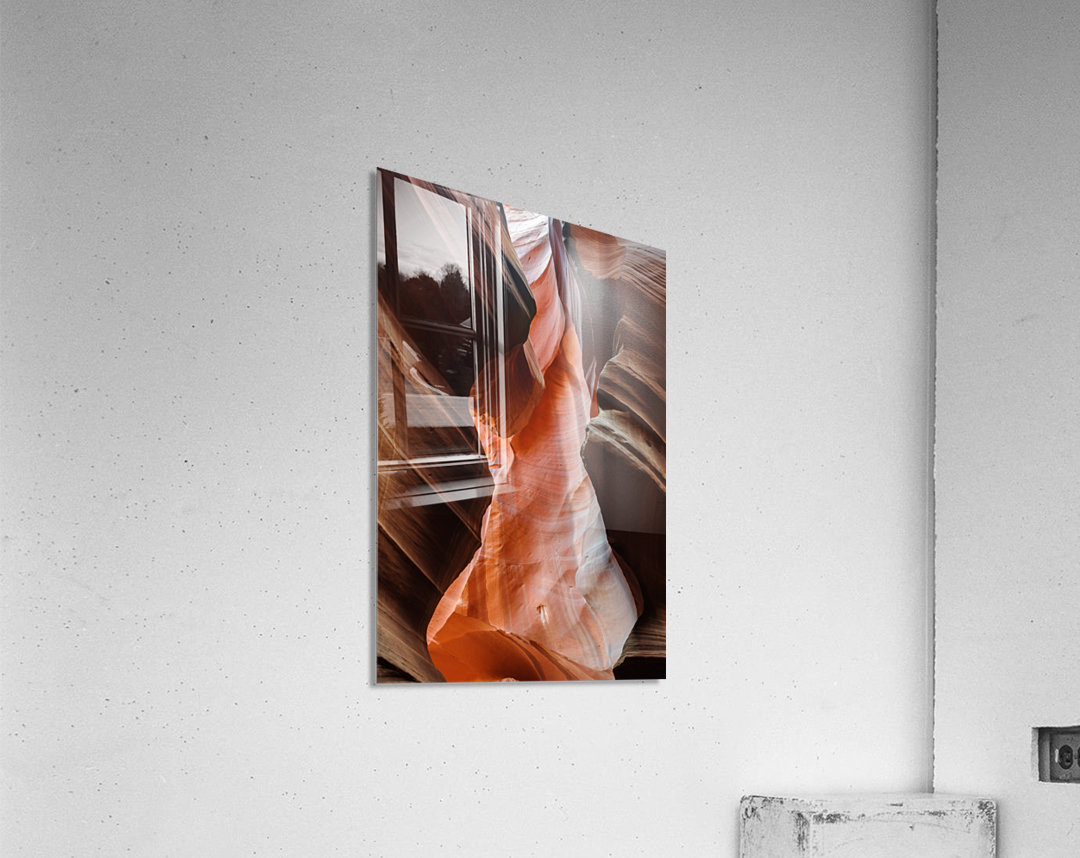 Upper Antelope Canyon 2  Acrylic Print