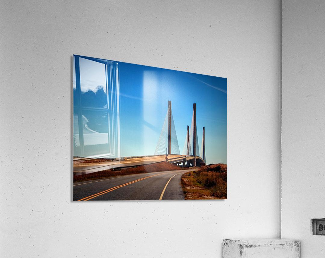 Indian River Bridge North Approach  Acrylic Print
