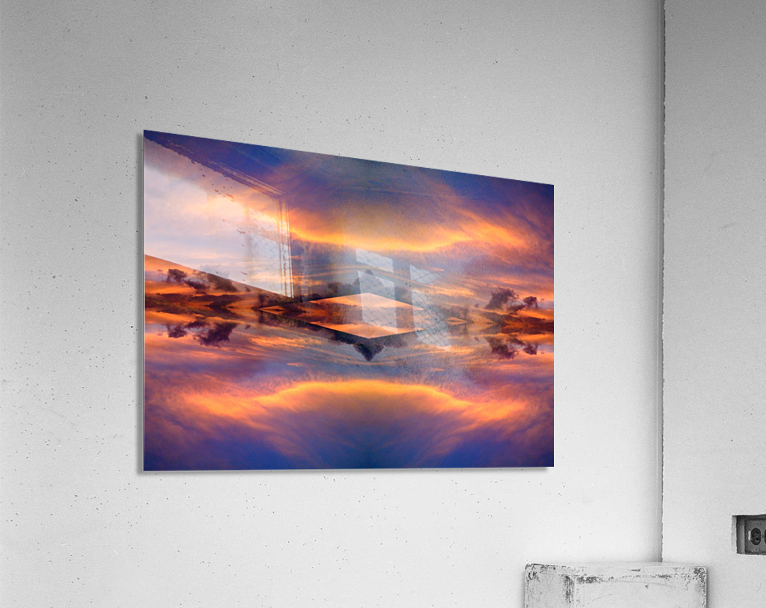 blue 7  Acrylic Print