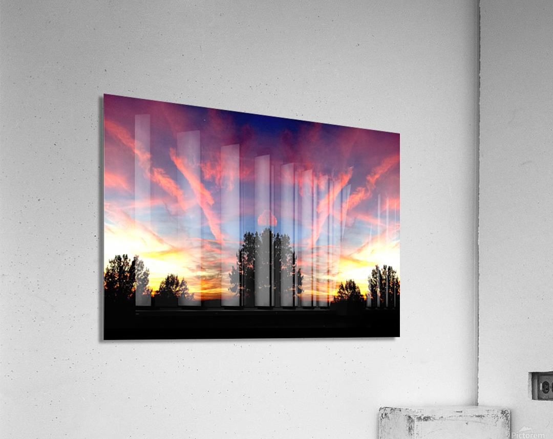 nube 58  Impression acrylique
