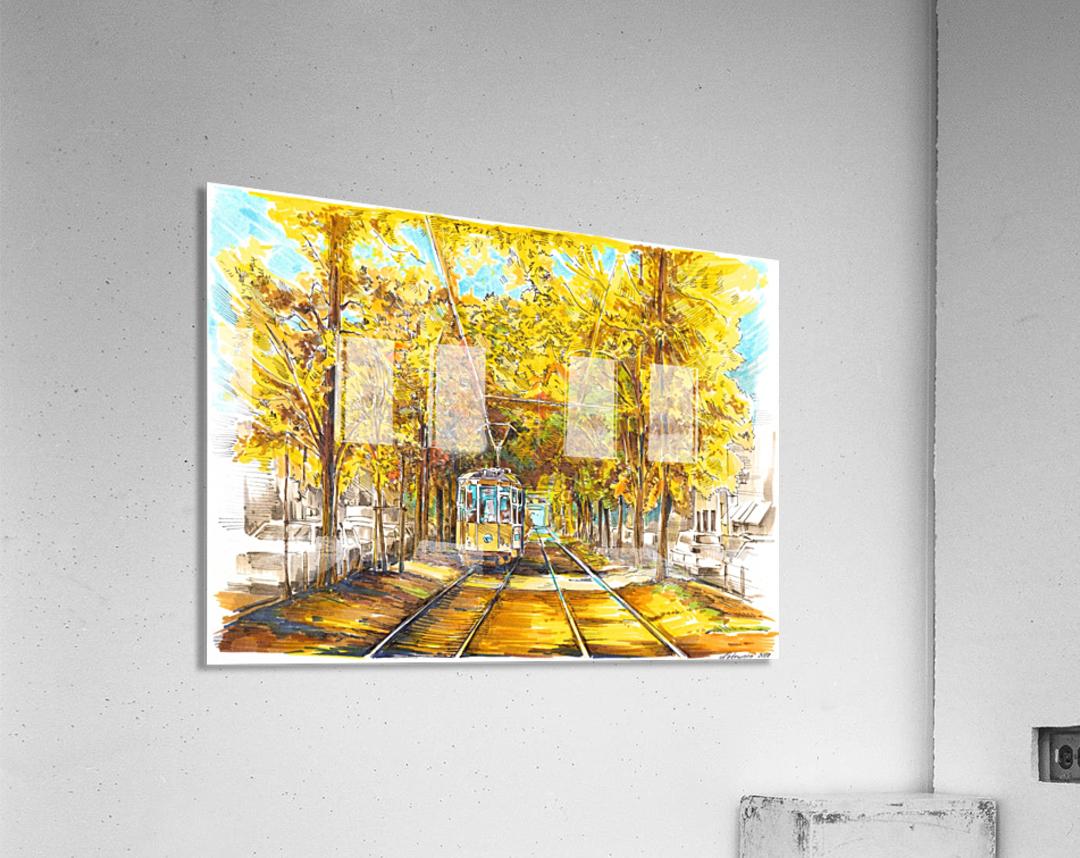 Autumn_Blues  Acrylic Print