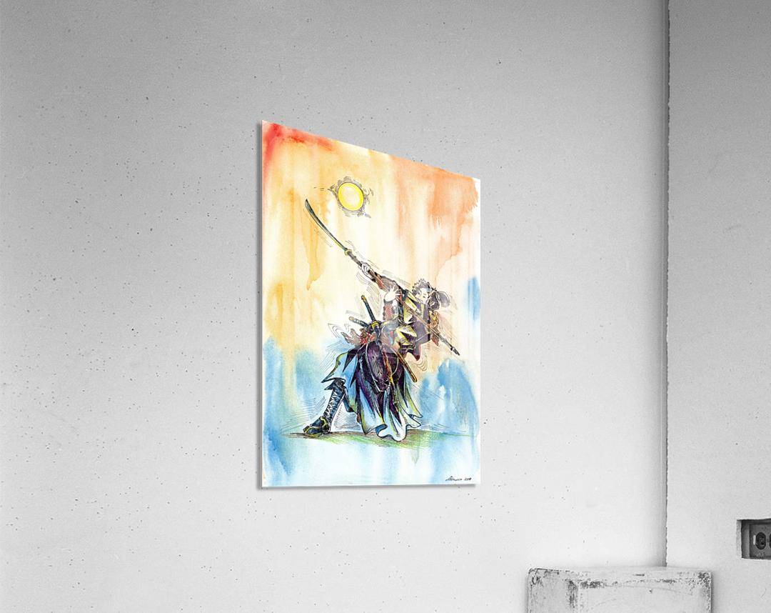The_Warrior_s_Way  Acrylic Print