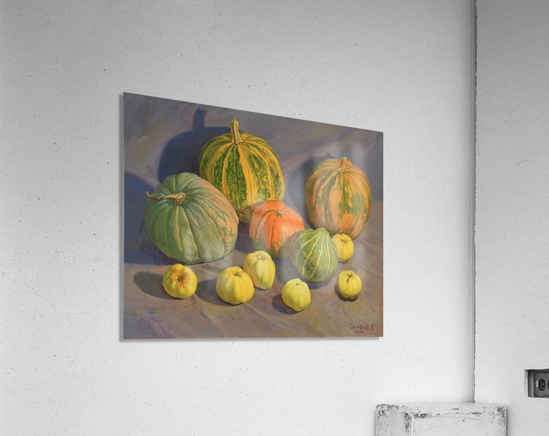 Pumpkins_And_Apples  Acrylic Print
