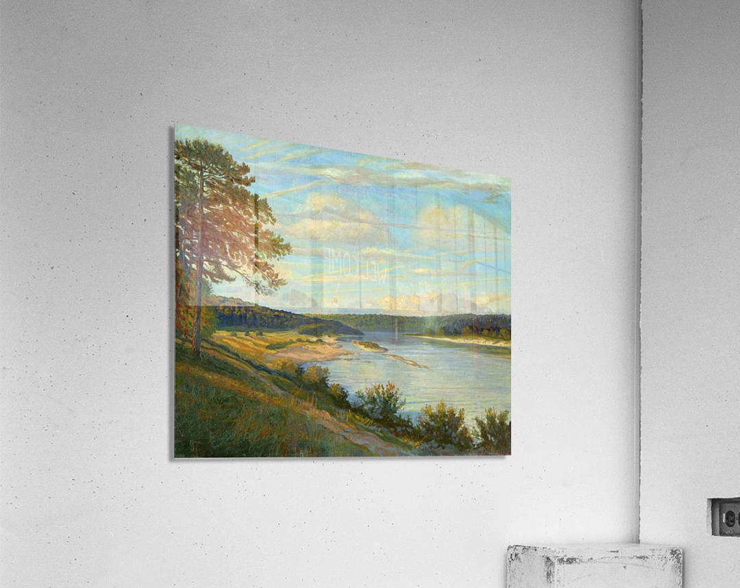Okah_River_In_August  Acrylic Print