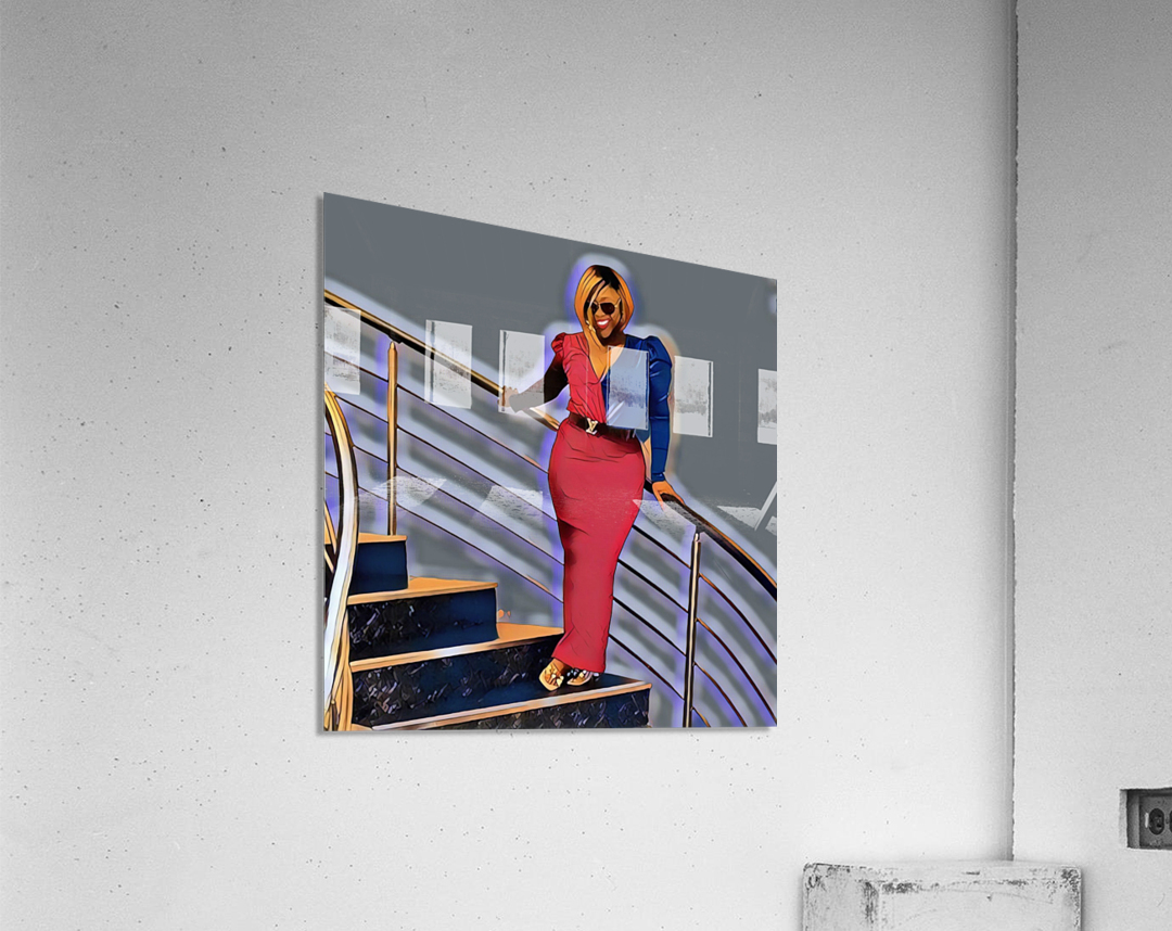 Balustrade  Acrylic Print