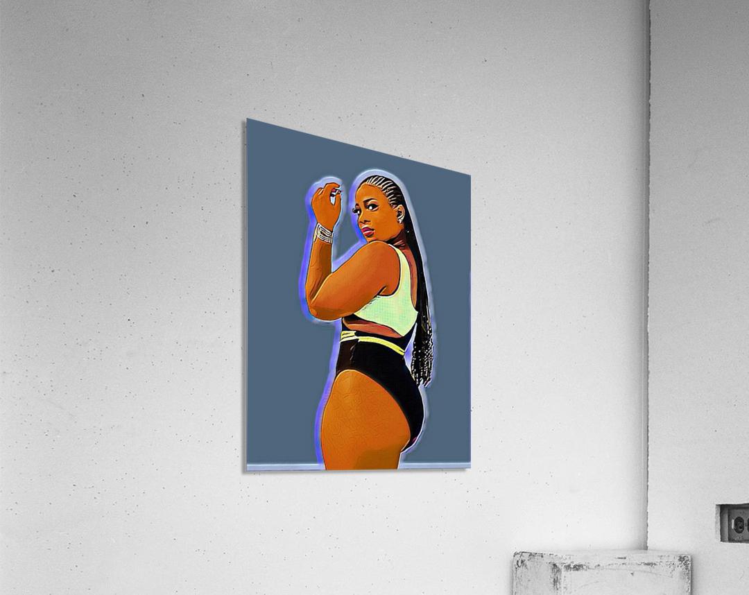 Glace  Acrylic Print