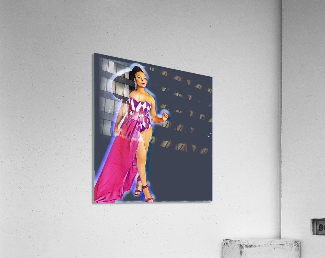 Walker  Acrylic Print