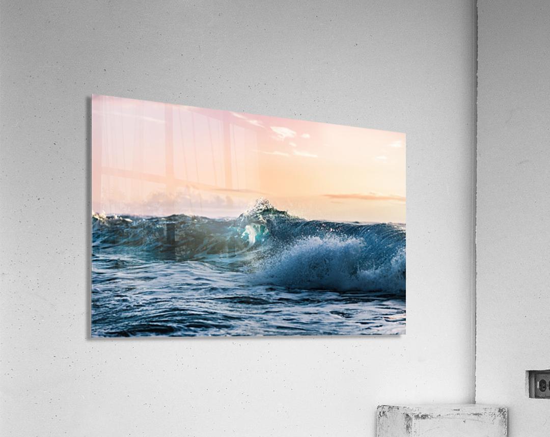 Blue Break  Acrylic Print