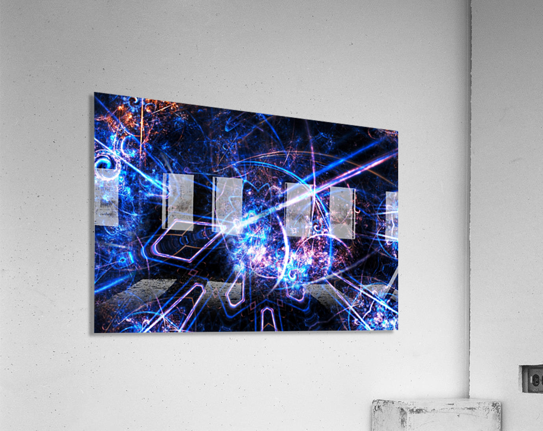 Time traveller  Acrylic Print