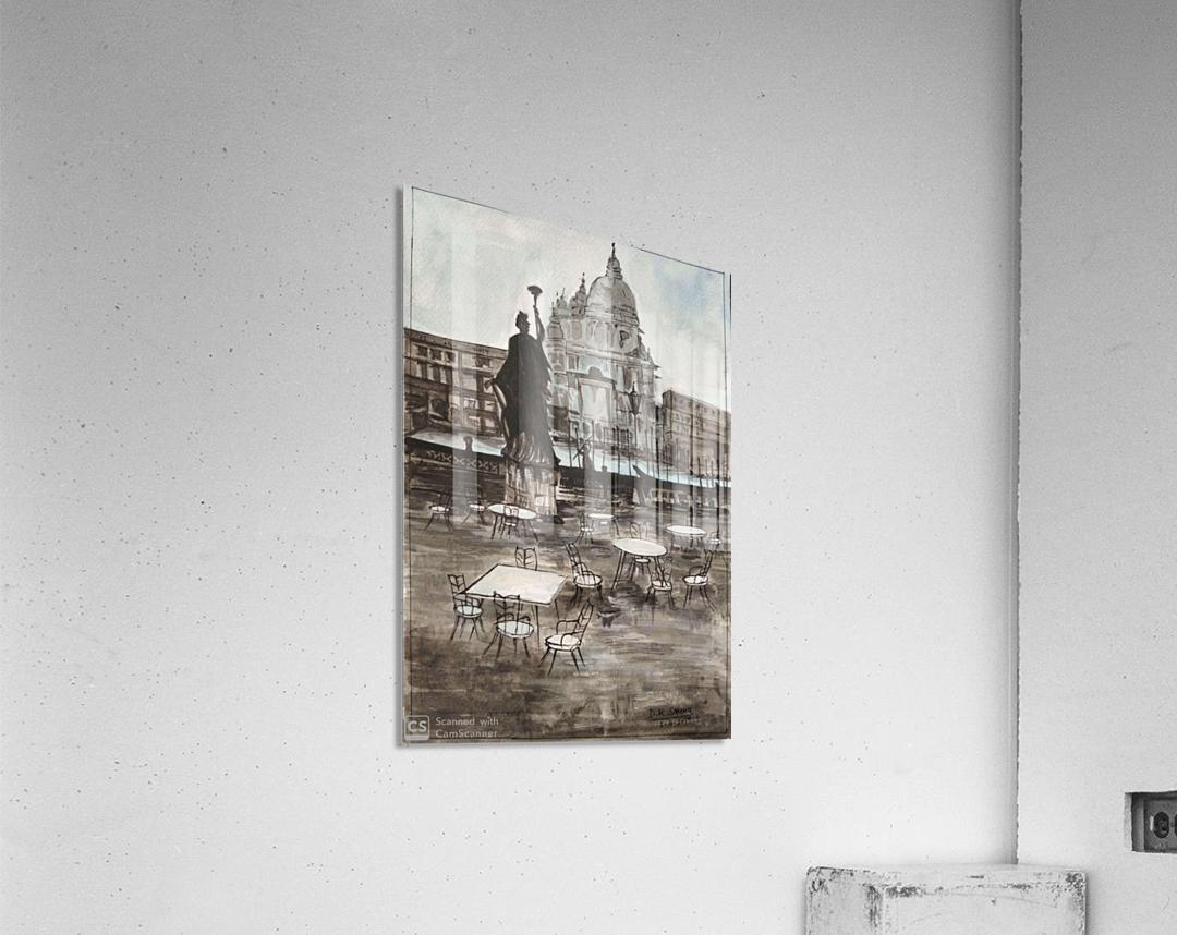 White house_DKS  Impression acrylique