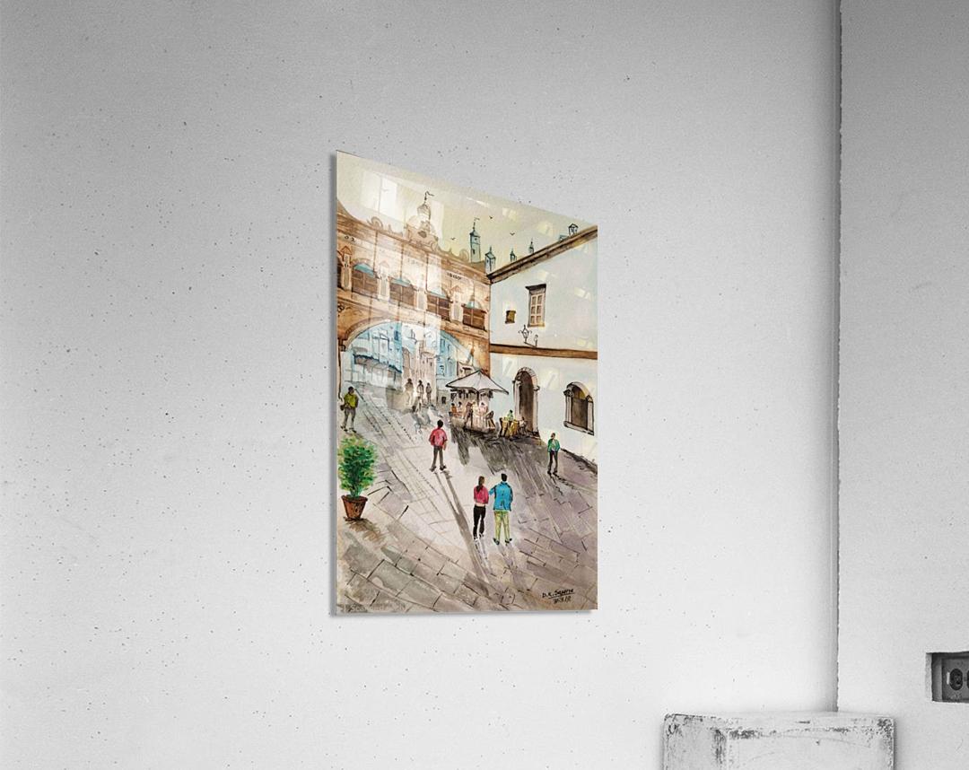 Cofee Lane_DKS  Impression acrylique