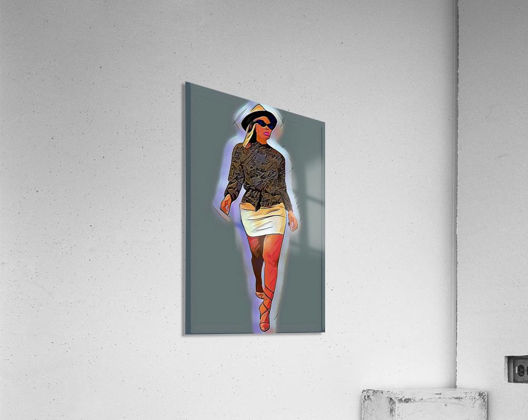 Hey lover  Acrylic Print
