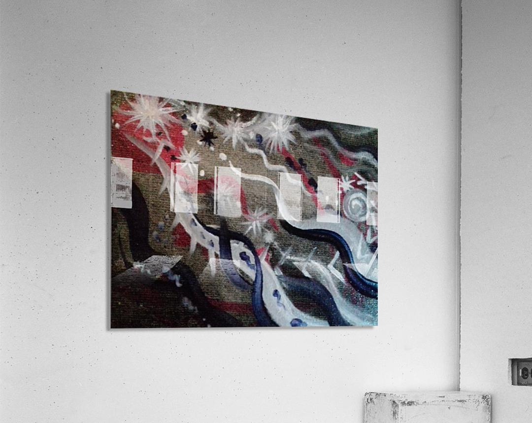 Shungite.Epiphany4.  Acrylic Print