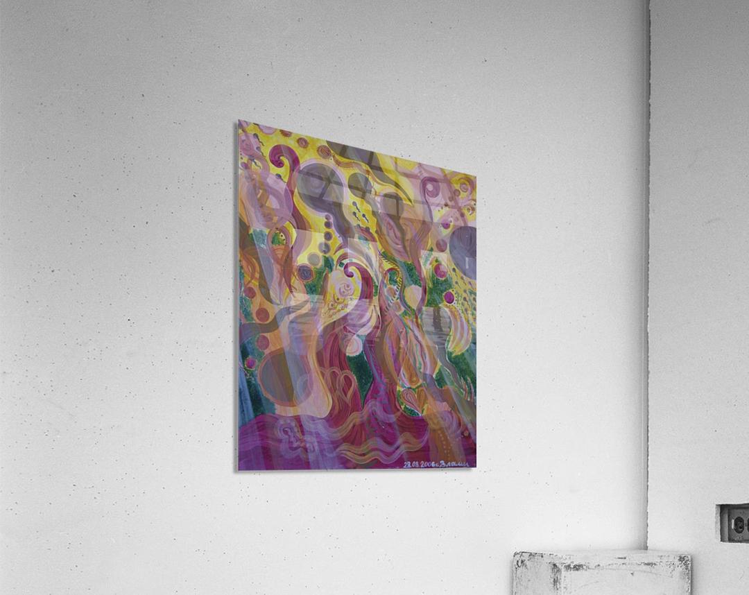 Beginning  Acrylic Print
