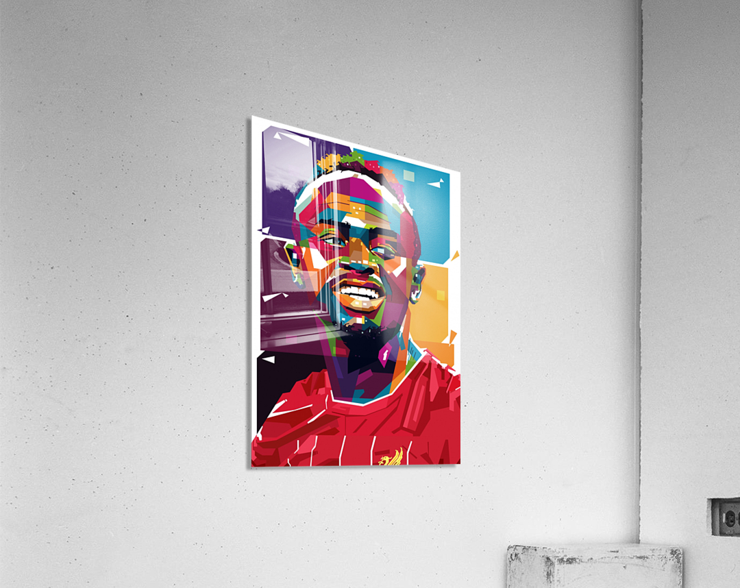 Sadio mane  Acrylic Print